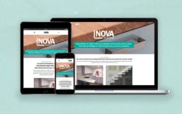 vistas web responsive de Nova Encimeras Creative Studio