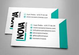Portfolio Creative Studio tarjeta Nova Encimeras