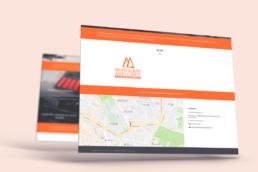 Vista web Montalbán Asesores Creative Studio