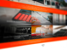 Vista web servicios Montalbán Asesores Creative Studio