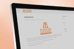 Vista web blog Montalbán Asesores Creative Studio