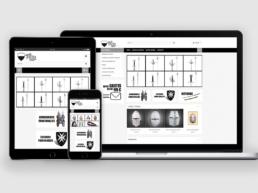 vistas web responsive de Desde Toledo con Amor Creative Studio