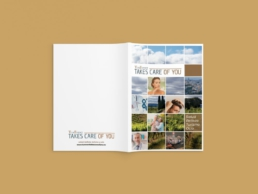 Dossier exterior TurEvent takes care of you - Creative Studio, Diseño, Web y Publicidad en Toledo