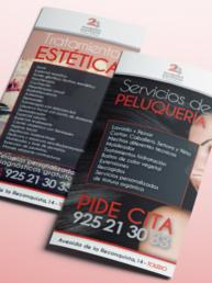 Folleto 2h peluqueros y esteticistas - Creative Studio, Diseño, Web y Publicidad en Toledo (Inicio)