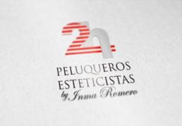 Logo 2h peluqueros y esteticistas - Creative Studio, Diseño, Web y Publicidad en Toledo