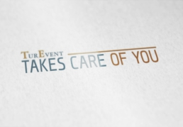 LogoTurEvent takes care of you - Creative Studio, Diseño, Web y Publicidad en Toledo