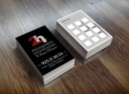 Tarjetas de visita 2h peluqueros y esteticistas - Creative Studio, Diseño, Web y Publicidad en Toledo