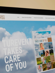 turevent takes care of you - creative studio, Diseño, Web y Publicidad en Toledo