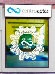 Ventana Centro Aetas - Creative Studio, diseño, web y publicidad en Toledo