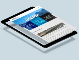 LUXTOP Sistemas anticaídas - Creative Studio, diseño, web y publicidad en Toledo