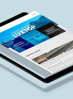 LUXTOP Sistemas anticaídas Principal - Creative Studio, diseño, web y publicidad en Toledo