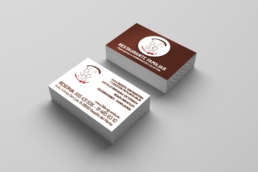 Tarjeta de visita La Burguesita - Creative Studio, diseño, web y publicidad en Toledo