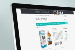 Omega 3 para niños Puro Omega - Creative Studio, diseño, web y publicidad en Toledo