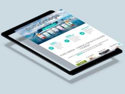 Página web Puro Omega - Creative Studio, diseño, web y publicidad en Toledo