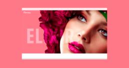 Página web Elixir Centro de Belleza - Creative Studio, diseño, web y publicidad en Toledo