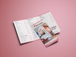 Tríptico Elixir Centro de Belleza - Creative Studio, diseño, web y publicidad en Toledo