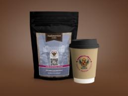 Etiquetas Toletum Natural Coffees - Creative Studio, diseño, web y publicidad en Toledo