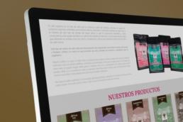 Tienda Online productos Toletum Natural Coffee - Creative Studio, diseño, web y publicidad en Toledo