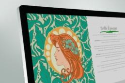 Salón Belle Époque Historia - Creative Studio, diseño, web y publicidad en Toledo