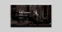 Salón Belle Époque página web - Creative Studio, diseño, web y publicidad en Toledo