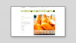 Página web Caseríssima, obrador sin gluten - Creative Studio, diseño, web y publicidad en Toledo