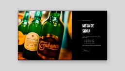 Página web Taberna Asturiana Zapico - Creative Studio, diseño, web y publicidad en Toledo