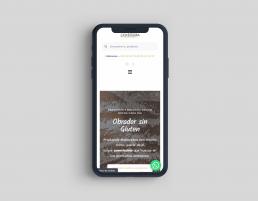 Responsive Caseríssima, obrador sin gluten - Creative Studio, diseño, web y publicidad en Toledo