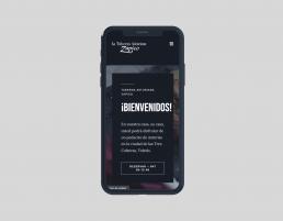 Responsive Taberna Asturiana Zapico - Creative Studio, diseño, web y publicidad en Toledo