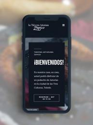 Taberna Asturiana Zapico - Creative Studio, diseño, web y publicidad en Toledo